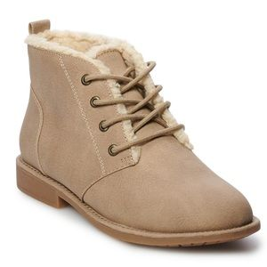 Women's SONOMA Marbling Taupe Ankle Boots